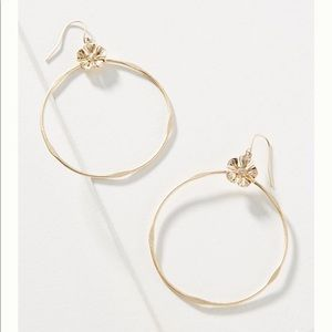 NWT Anthropologie Budding Blossom Drop Earrings